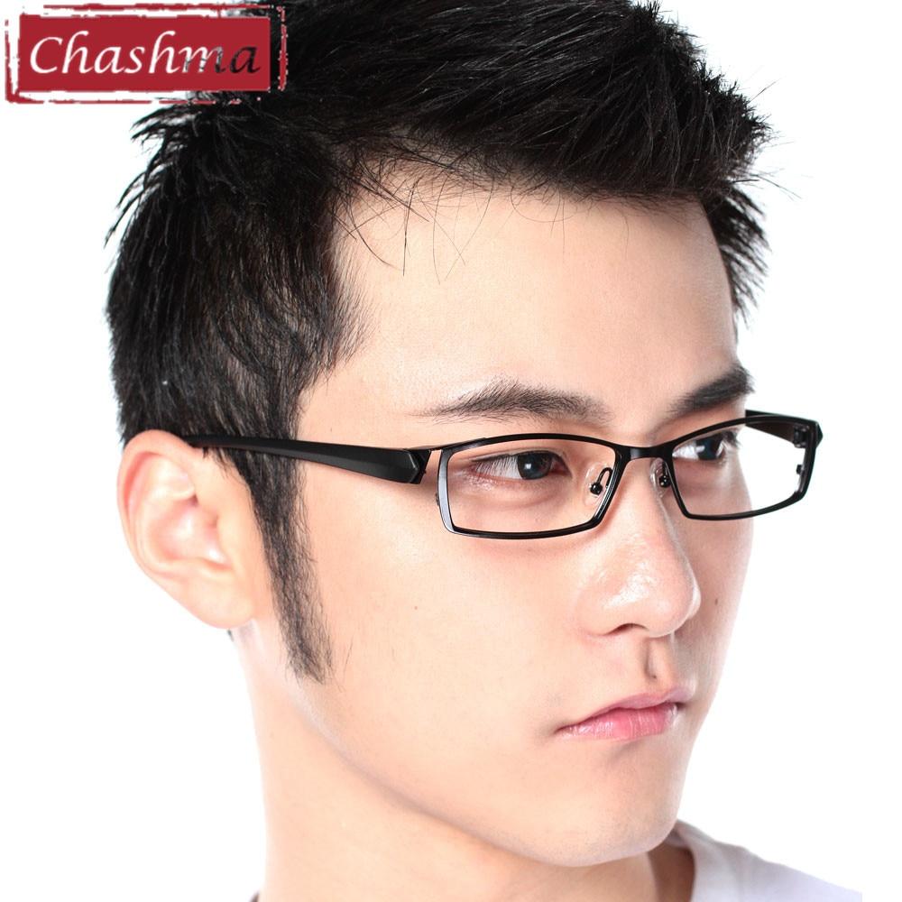 Chashma Mannen Titanium Legering Metalen Brillen Full Frame Ultra - Kledingaccessoires - Foto 6