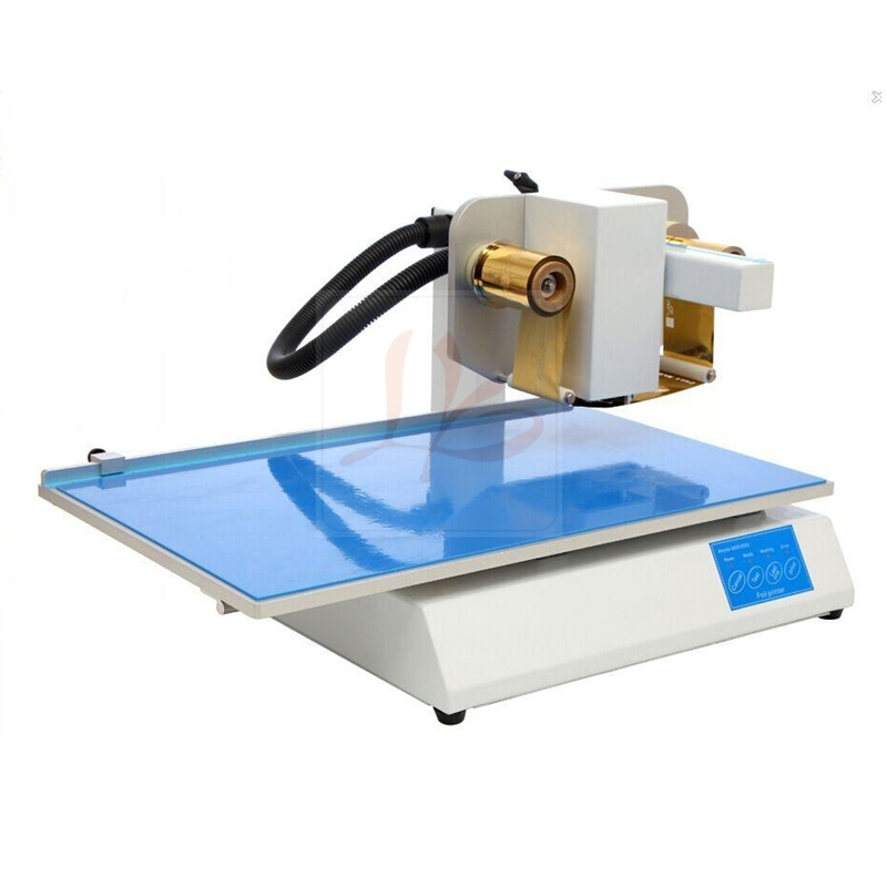 LY 500A foil press digital hot foil stamping printer machine hot foil printer machine ly 300 free tax to europe