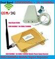 3G repetidor de doble banda GSM 900 MHz + 2100 MHz WCDMA amplificador de señal para el hogar, uso de oficina de sinal de señal celular repetidor repeate