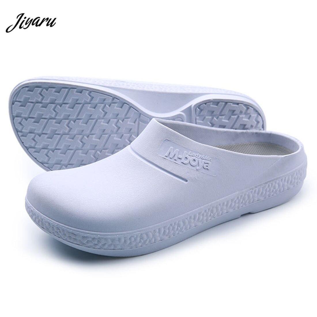 2018 New Chef Restaurant Kitchen Work Shoes Men Medical Doctors Nurses Surgical Work Shoes Non-slip Protective Sandal Men Shoes