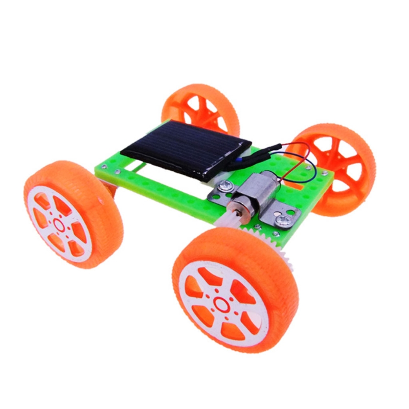 Top Quality Solar Toy Car Mini Assemble DIY Educational Kits Assembly Vehicle Model For Kids