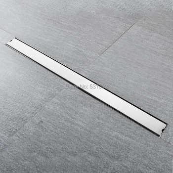High Quality 80CM SUS304 Stainless Steel Floor Drain Tile Insert Rectangular Anti-Odor Shower Floor Drain Gate Drain - DISCOUNT ITEM  33% OFF All Category