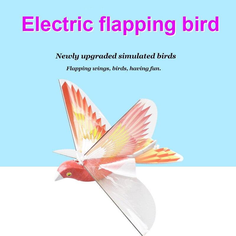 aviao voador eletronico do passaro que bate asa modelo de voo 2 4 ghz zangao criancas