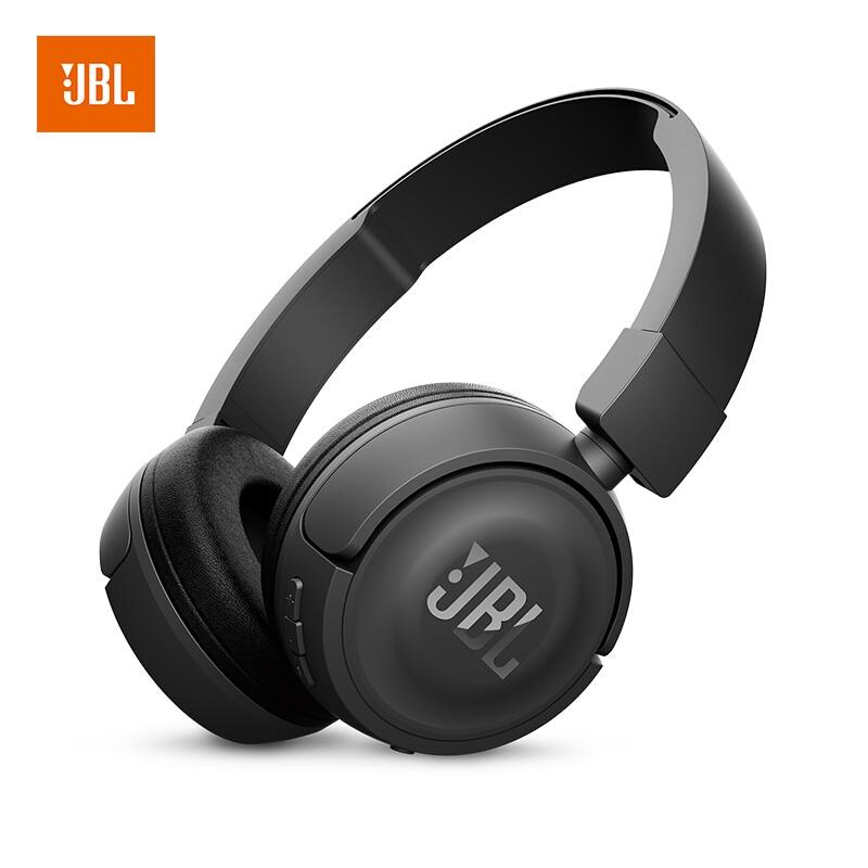 JBL T450BT Casque Sans Fil Bluetooth Écouteurs Extra Bass Sur-Oreille avec Micro