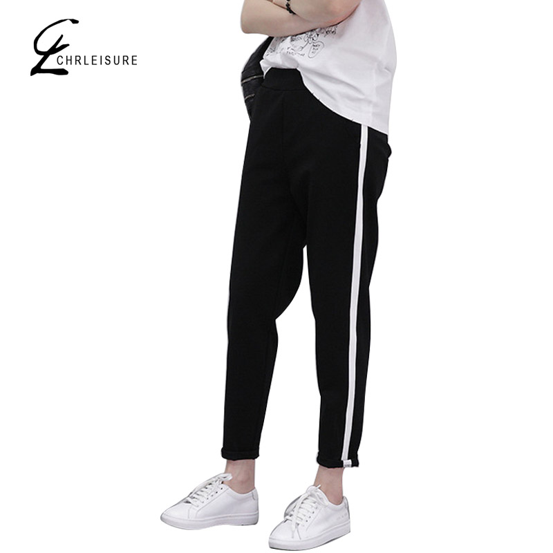 CHRLEISURE S XXL Women s Harem Pants Fashion Loose Slim Pants Fashion Plus Size Elastic Female Pants Trousers for Women