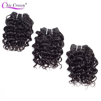 【BULK BUY】 100% Human Hair Bundles 3 Pieces/Lot Double Weft Remy Brazilian Hair Kinky Curly  6PCS Can Make A Wig For Black Women 1