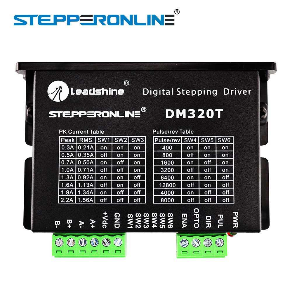 Digital Stepper Driver 0.3-2.2A 18-30VDC for Nema 8, 11, 14, 16, 17 Stepper Motor digital stepper driver 1 8 5 6a 20 50vdc for nema 23 24 34 stepper motor