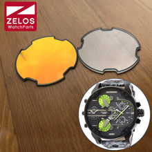Mineral Crystal Glass for Diesel Mr BIG DADDY Chronograph Man Watch DZ7395 7370 parts tools(China)
