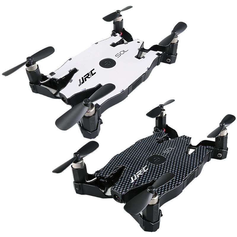 Bianco Nero JJRC H49 Automatico Pieghevole Wifi Quadcopter Drone Giocattolo una Chiave di Ritorno Modalità Senza Testa Con 720 P HD Fotocamera Sottile corpo
