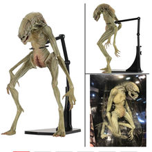 18cm NECA Aliens Vs Predator Figura Estrangeiro Recém PVC Action Figure Modelo Toy Boneca(China)