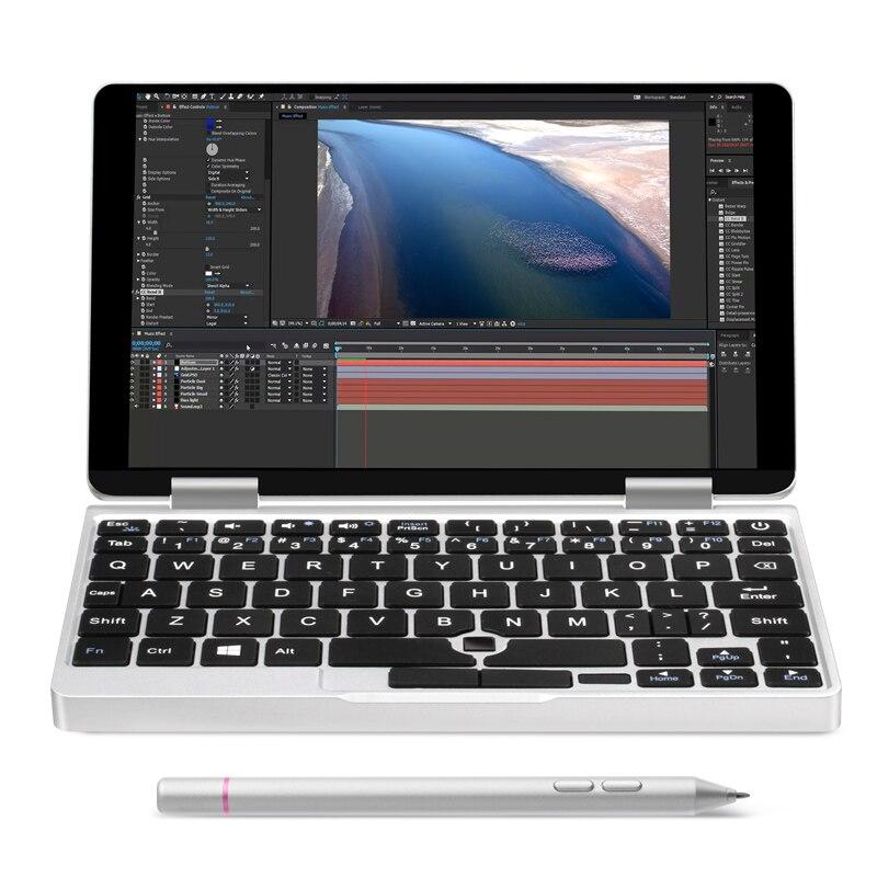 """2in1 360 Yoga 7 """"tablet Pc Ips Touchscreen Ogs Intel Dual Core 8th Gen Cpu M3 8100y Laptop Mit Fingerprint Anerkennung 8g + 256g Reich An Poetischer Und Bildlicher Pracht"""