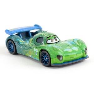 Image 2 - מכוניות דיסני פיקסאר מכוניות 2 קרלה Veloso מתכת Diecast ברקים מקווין מאטר ג קסון סטורם רמירז צעצוע רכב 1:55 Loose מותג צעצועים