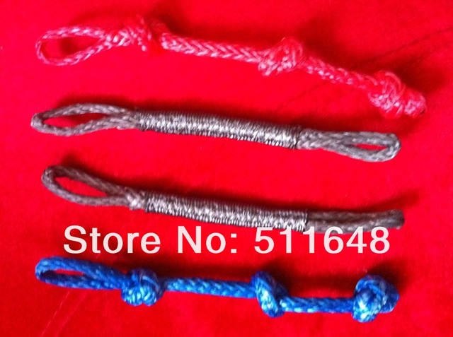Free Shipping New Power Kitesurfing Kiteboarding Kite Line Pigtails 4 pieces In a Bag