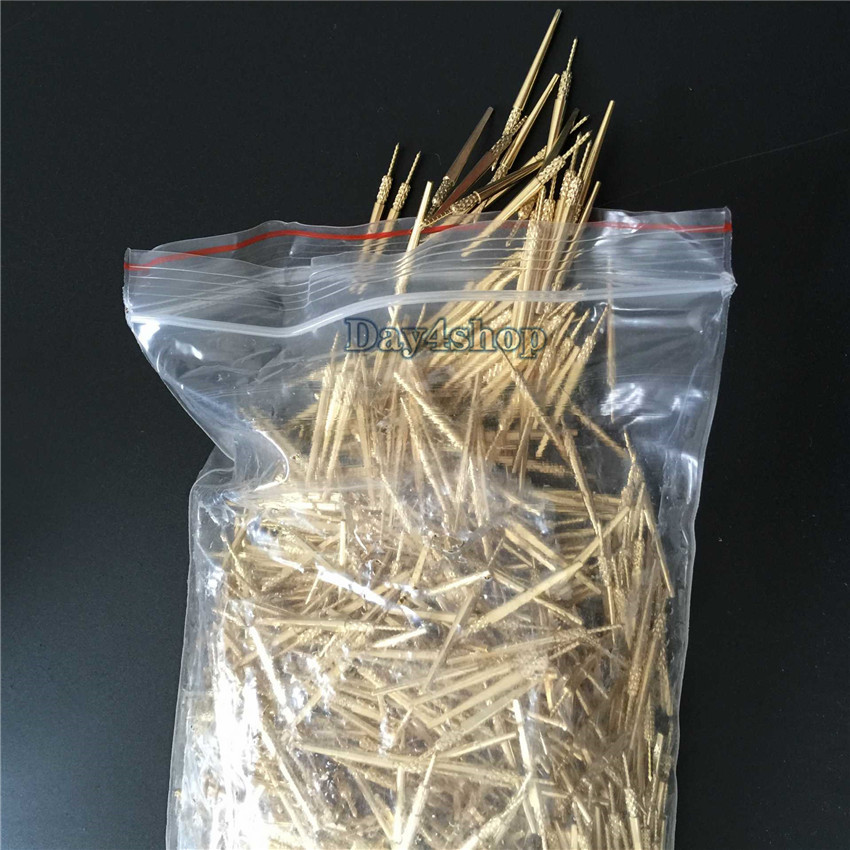 NEw 1000PCS NEW #3 DENTAL LAB BRASS DOWEL STICK PINS  #3