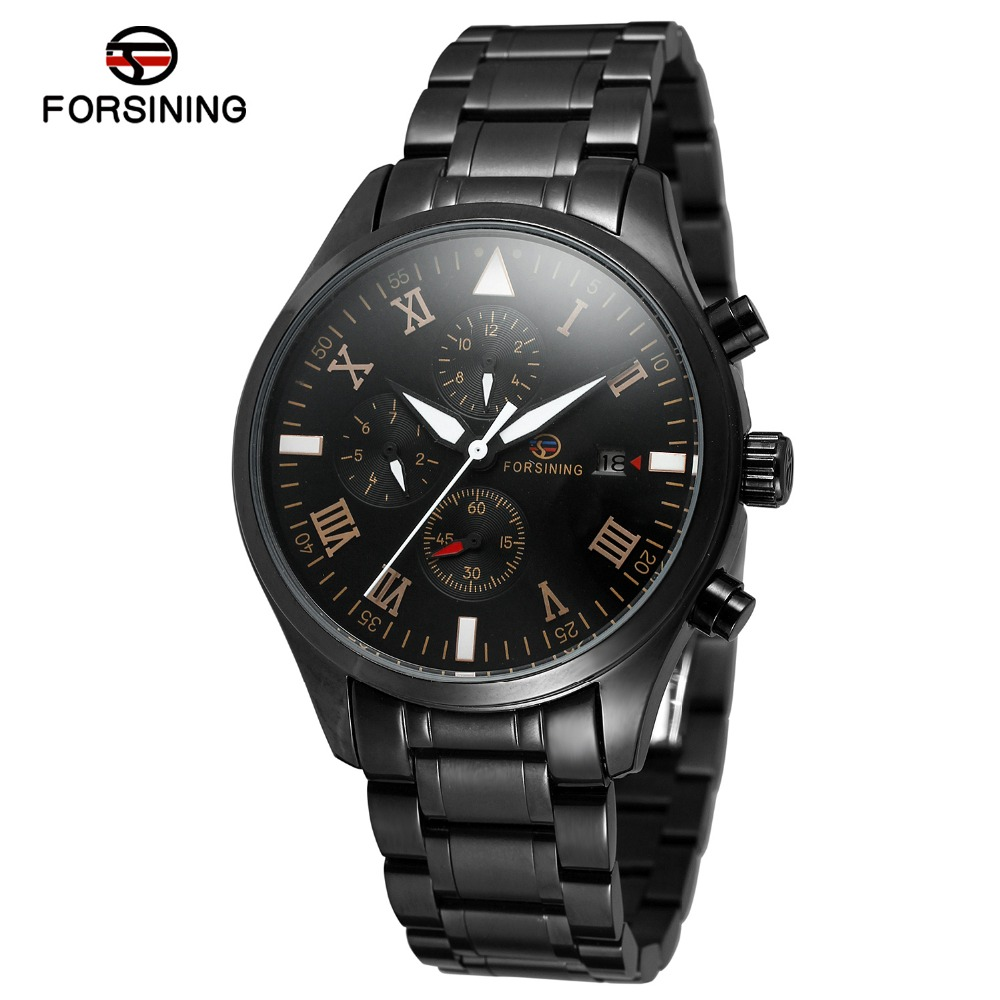 Men Watches Male Watch Hour Date Stainless Steel Band Top Luxury Brand Sport Business Wrist Watch Army Military Waterproof 2017 fashion men watches top brand luxury function date leather sport watch male business quartz wrist watch reloj hombre