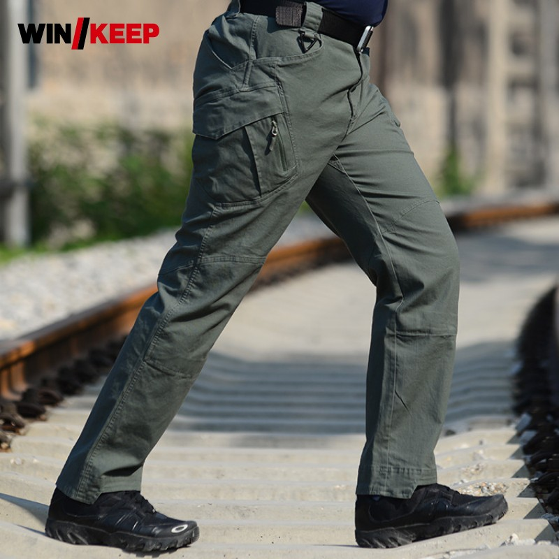Men Hiking Pants Military Tactical Outdoor Softshell Trousers Army Cargo Pants Camping Trekking Sportswear Breathable Pantalones ganyanr brand solid tactical military army cargo long pants combat trousers military tactical pants full length caping outdoor