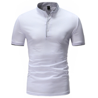 2018 Summer New Fashion Solid V Neck Men S T Shirt Short Sleeve Casual T Shirt