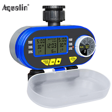 Two Outlet Digital Electronic Solenoid Valve Water Timer