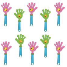 10 шт модные цветные ручной Хлопушка вечерние для концерта детей