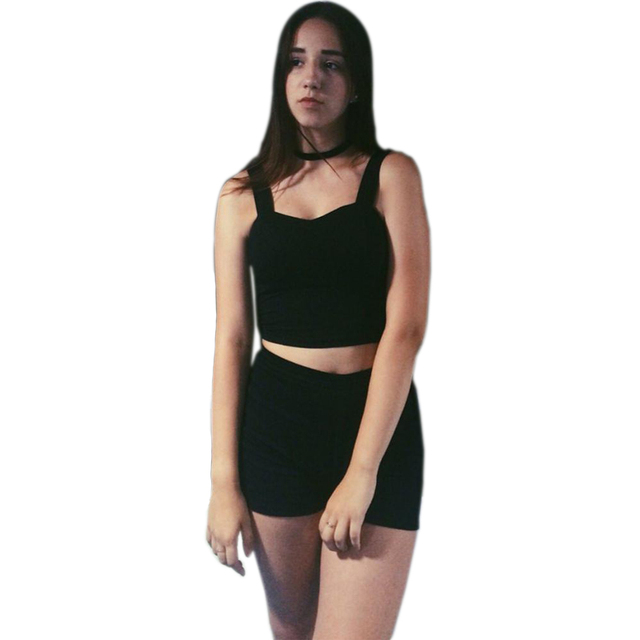Popular women bra celery plants flowers tank top woman cut Feminino. Cami Tops Women's black short-sleeved tops even cut.
