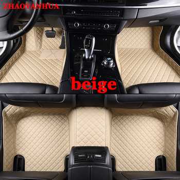 Custom car floor mats for Mazda 2 3 Axela 6 8 CX5 CX-5 CX7 case carpet heavy duty anti slip perfect rugs liners image