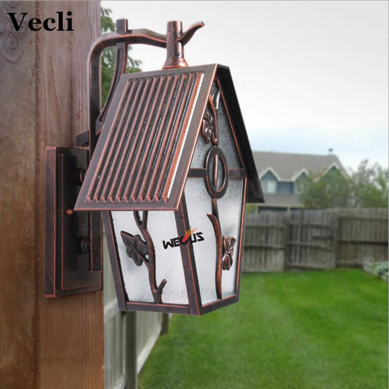 Aluminum and Acrylic European style retro LED wall lamp outdoor lights villa balcony garden lamps lamp waterproof lamp european retro outdoor wall lamp villa balcony garden lamp retro wall lamp outdoor retro lamps