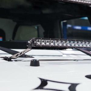 Image 5 - ติดตั้งสำหรับ Jeep Wrangler JK 2007 2017 ติดตั้ง 20 22 นิ้ว LED ตรง Work Light Bar