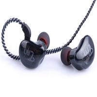 TRN V10 2DD+2BA Hybrid Earphone Comfortable Earbuds with Detachable 2PIN Cable for Rock DJ Hip Hor Jazz Music As Same TRN V60V80