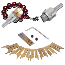 16pcs Wooden Beads Drill Bits Set 14/15/16/18/20/22/25mm Carbide Ball Blade Woodworking Milling Cutter Buddha Beads Router Bit стоимость