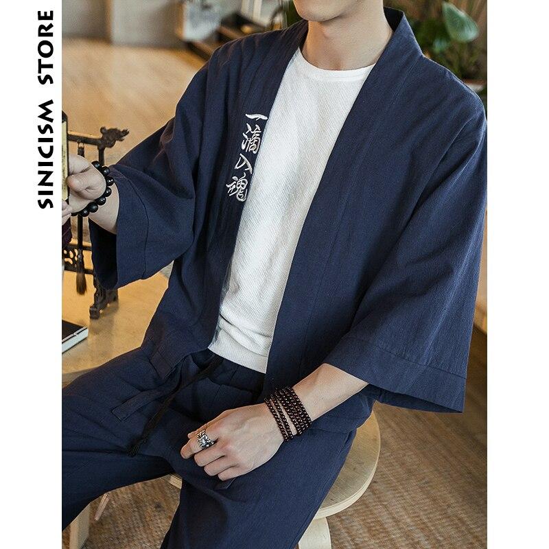 Chinese Men Streetwear Kimono 3