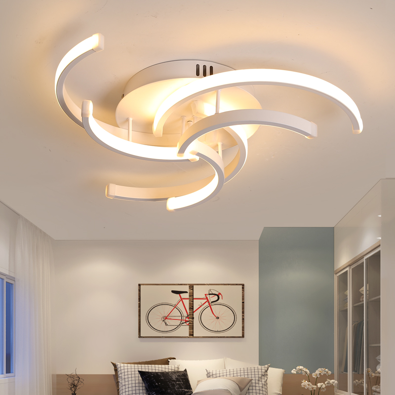 Living Room Bedroom Modern Led Ceiling Lights for Living room Aluminum avize AC85 265V lamparas de Innrech Market.com