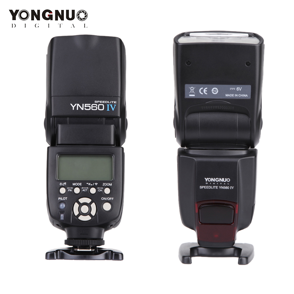 YONGNUO YN 560 III IV Flash Speedlite for Nikon Canon Olympus Pentax DSLR Camera Wireless Master