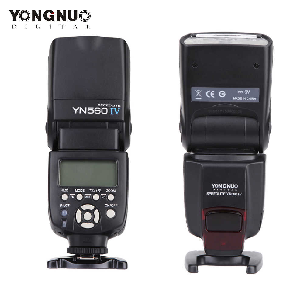 YONGNUO YN 560 III IV Flash Speedlite pour Nikon Canon Olympus Pentax DSLR appareil photo sans fil Flash principal Speedlite Original