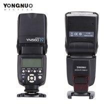 Flash speedlite yongnuo yn 560 iii iv, câmera dslr, nikon, canon, olympus, pentax
