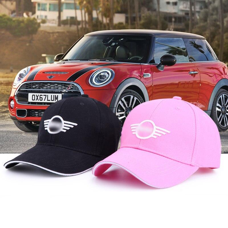 2019 New Pink/ Black Fashion Cotton Car Logo For Mini Performance Baseball Cap Hat Wholesale Men&woman