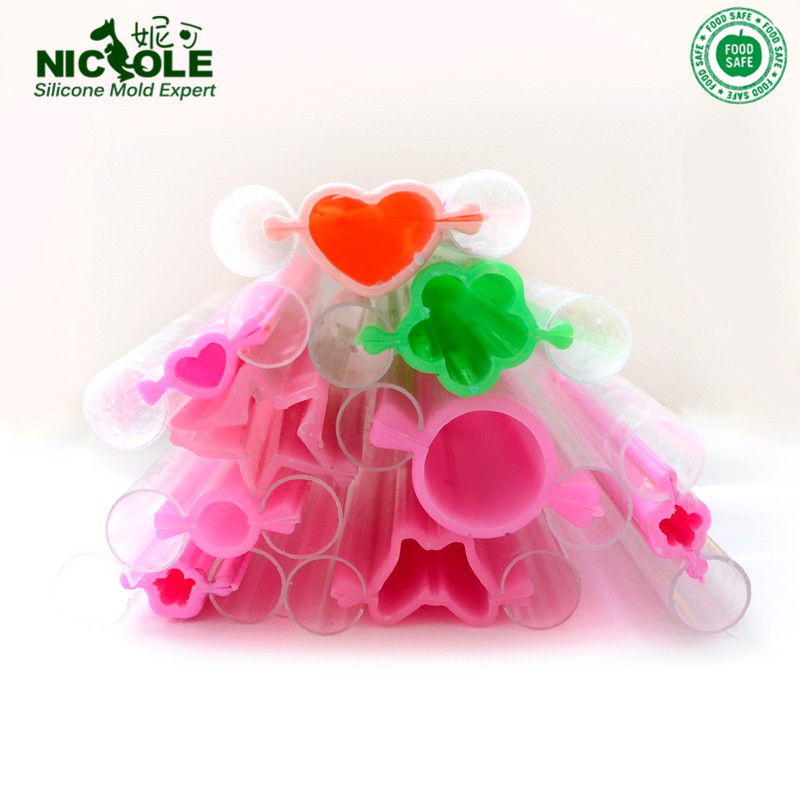 Nicole Silicone Tube Soap Mold DIYCandle Moulds