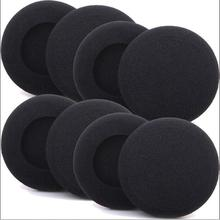 50 pack 4cm foam sponge ear pad earpads headphone sponge ear pad 40mm cushion linhuipad 50 pack 9cm velour ear pad cushion for hd205 hd225 hd215 pioneer hdj2000 hdj1000 headphone 90mm replacement ear cup