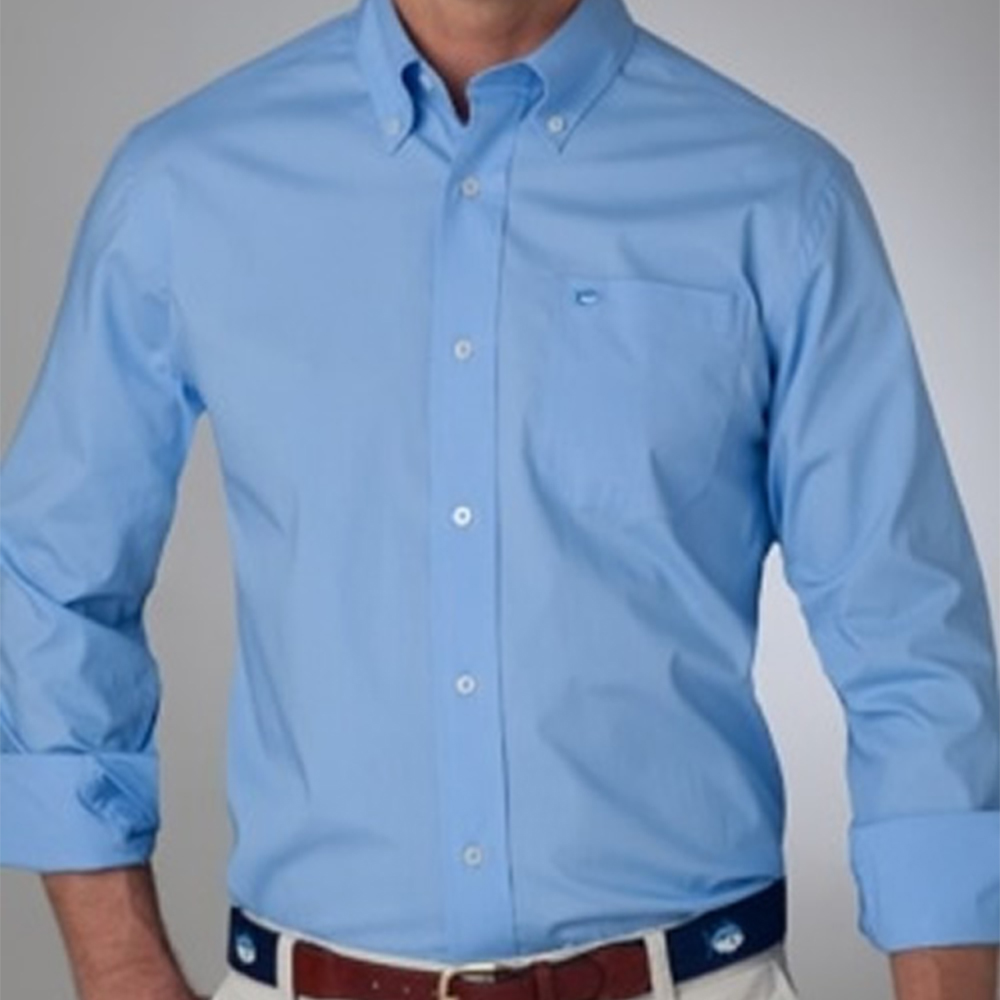 Mens Dress Shirts Long-Sleeve Tailored Custom-Made Bespoke 100%Cotton