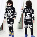 2017 new fashion Male child autumn harem pants + sweatshirts boys hiphop costume casual sports set jazz dance clothes sets