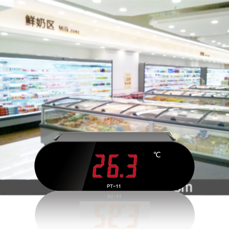 цена на -50~120 Degree Digital Temperature Thermometer Meter Gauge Indicator PT-11 with Sensor R06 Drop Ship