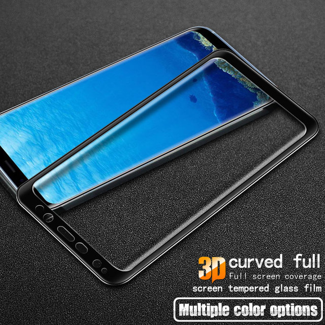 competitive price 9e604 16c4c US $8.99 29% OFF|Imak 9H 3D Tempered Glass for Samsung Galaxy S8 Full Cover  Tempered Glass Screen Protector for Samsung S8 Plus S8Plus Glass Film-in ...