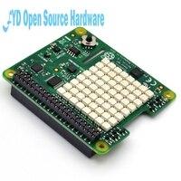 Raspberry Pi Sense HAT With Direction Pressure Humidity And Temperature Sensor