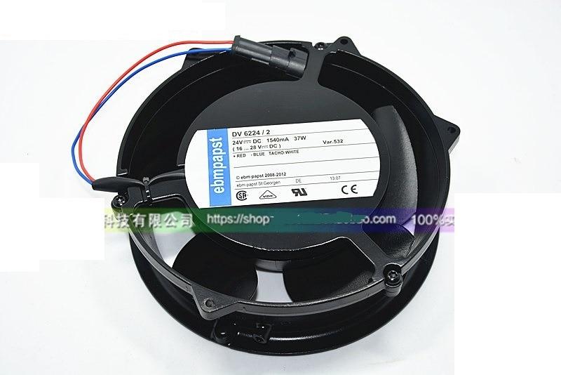 DV6224 / 2 24V original plug full inverter fan / fan 55KW / 75 / 90KW