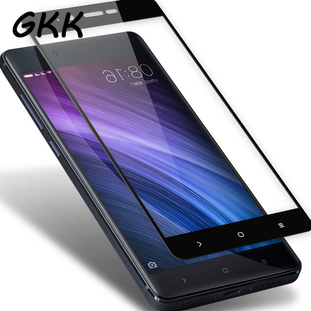 Gkk полное покрытие закаленное Стекло для Xiaomi Redmi 4 4X 4Pro 4 Премьер-чехол Redmi Note 4 Pro Примечание 4X экран протектор Закаленное Плёнки