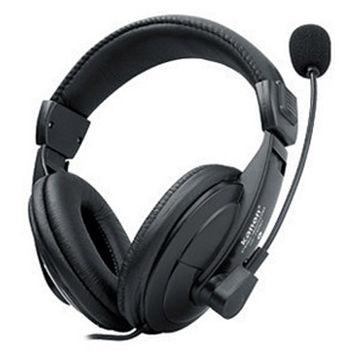 Free Shipping Km-750 earphones headset computer headset earphones belt