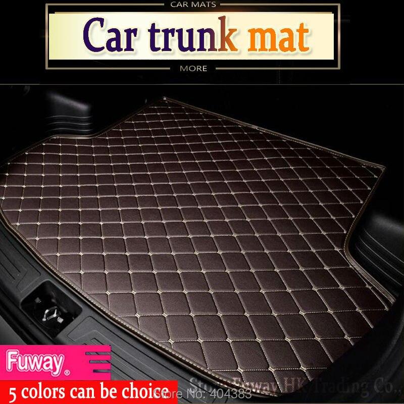 fit car trunk mat for Toyota Camry Corolla RAV4 X Crown Verso FJ Cruiser yaris L 3D car-styling tray carpet cargo liner