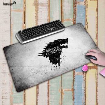 Mairuige Game of Thrones gamer Lock Edge mouse mat large gaming mousepad large High-end pad mouse