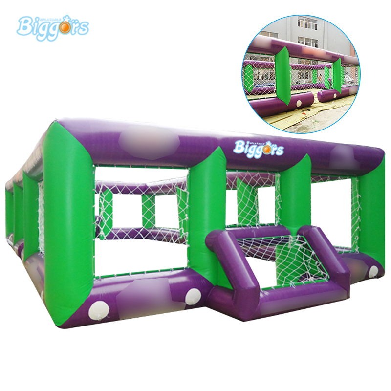 Inflatable Biggors Cheap Price All Cover Inflatable Football Field Inflatable Soccer Field Without Mattress Free Shipping cheap portable small inflatable water soccer football field for kids