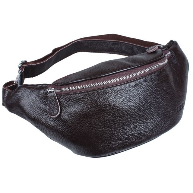 Mens Designer Embossed Leather Waist Pack Bags Casual Pillow Fanny Packs  Bum Bag Day Pack Hip Belt Bags Small Chest Pack Brown 325f0a2cf3c9b