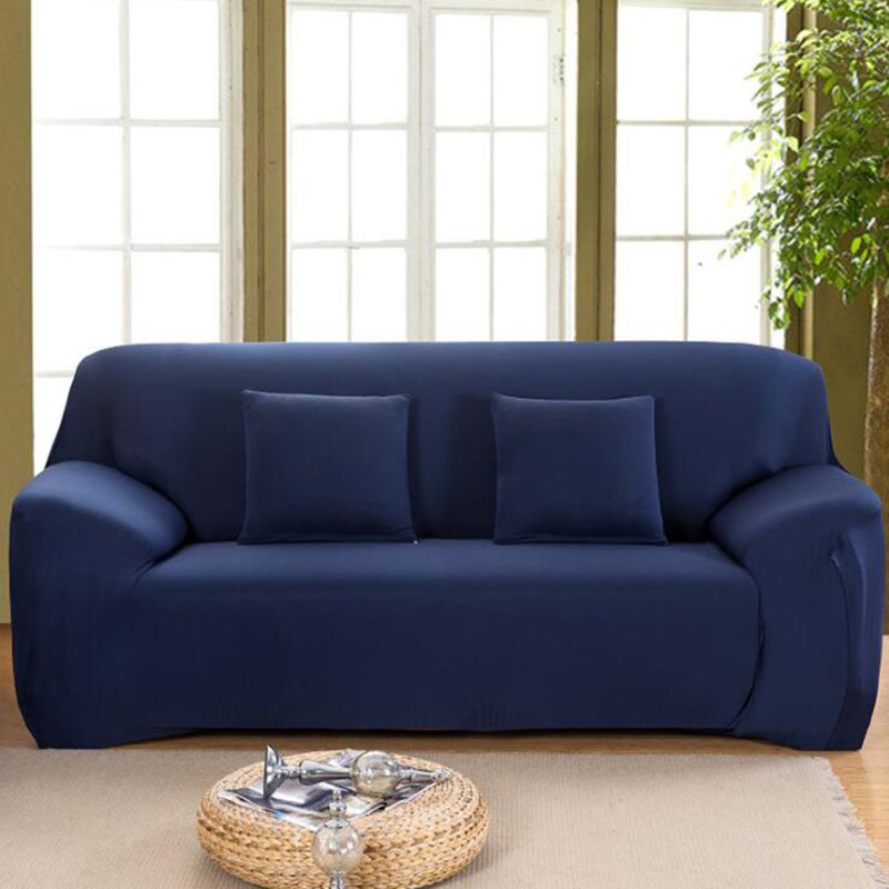 Details about Sofa Cover Elastic Cheap Cotton for Living Room Sofa  Slipcover Couch Cover 1/2/3